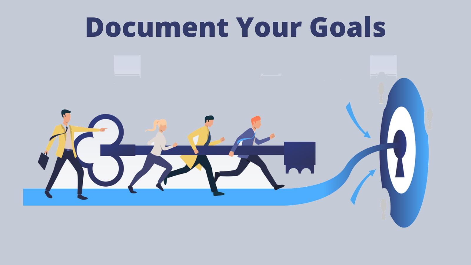 document-your-goals